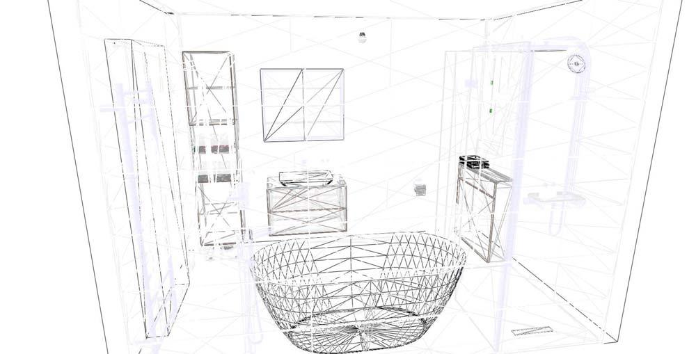 Bathroom wire image