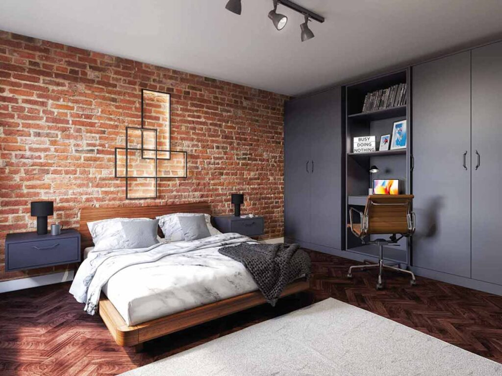 Strong & bold bedroom design for everyday living