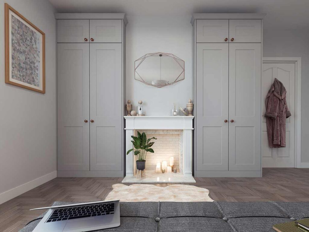 Tailoring to your theme with a simple shaker door