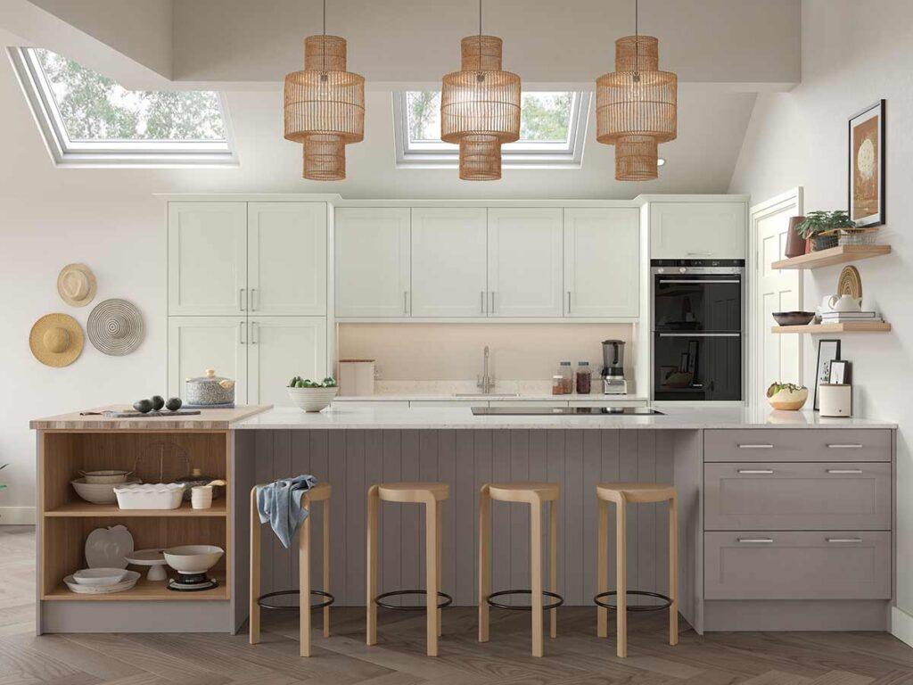 Formosa Kitchen Experts Origin Shaldon Porcelain Cashmere
