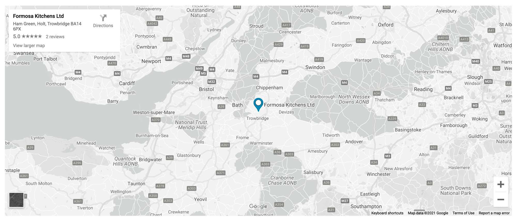Formosakbb map of showroom